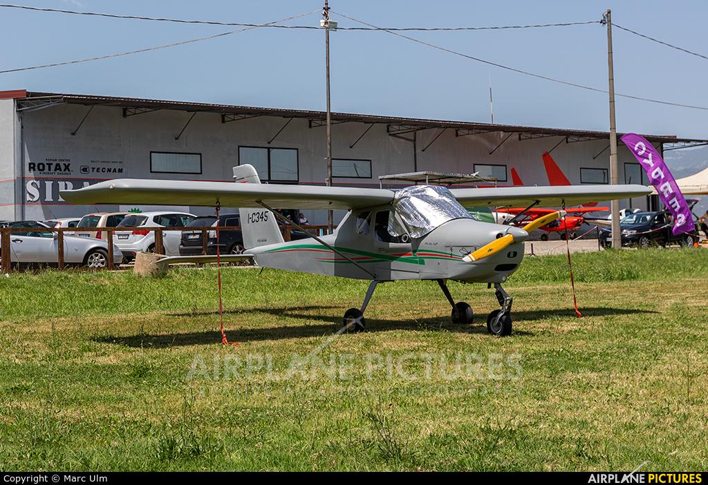 Private I-C345 aircraft at Sibari Fly