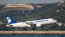 F-HBSA - Air Corsica Airbus A320 aircraft