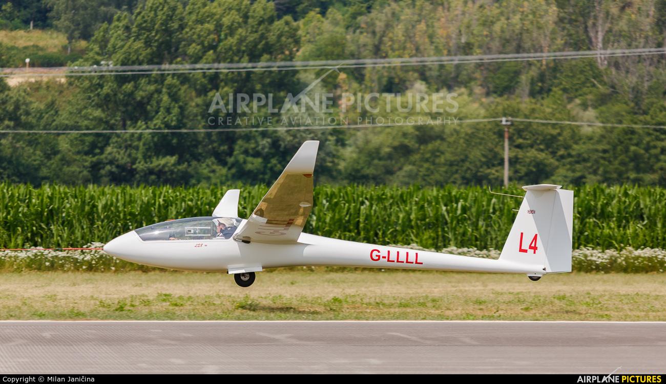 Private G-LLLL aircraft at Prievidza