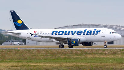 TS-INQ - Nouvelair Airbus A320