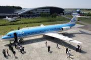 PH-OFA - KLM Cityhopper Fokker 100 aircraft