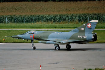 R-2103 - Switzerland - Air Force Dassault Mirage IIIRS