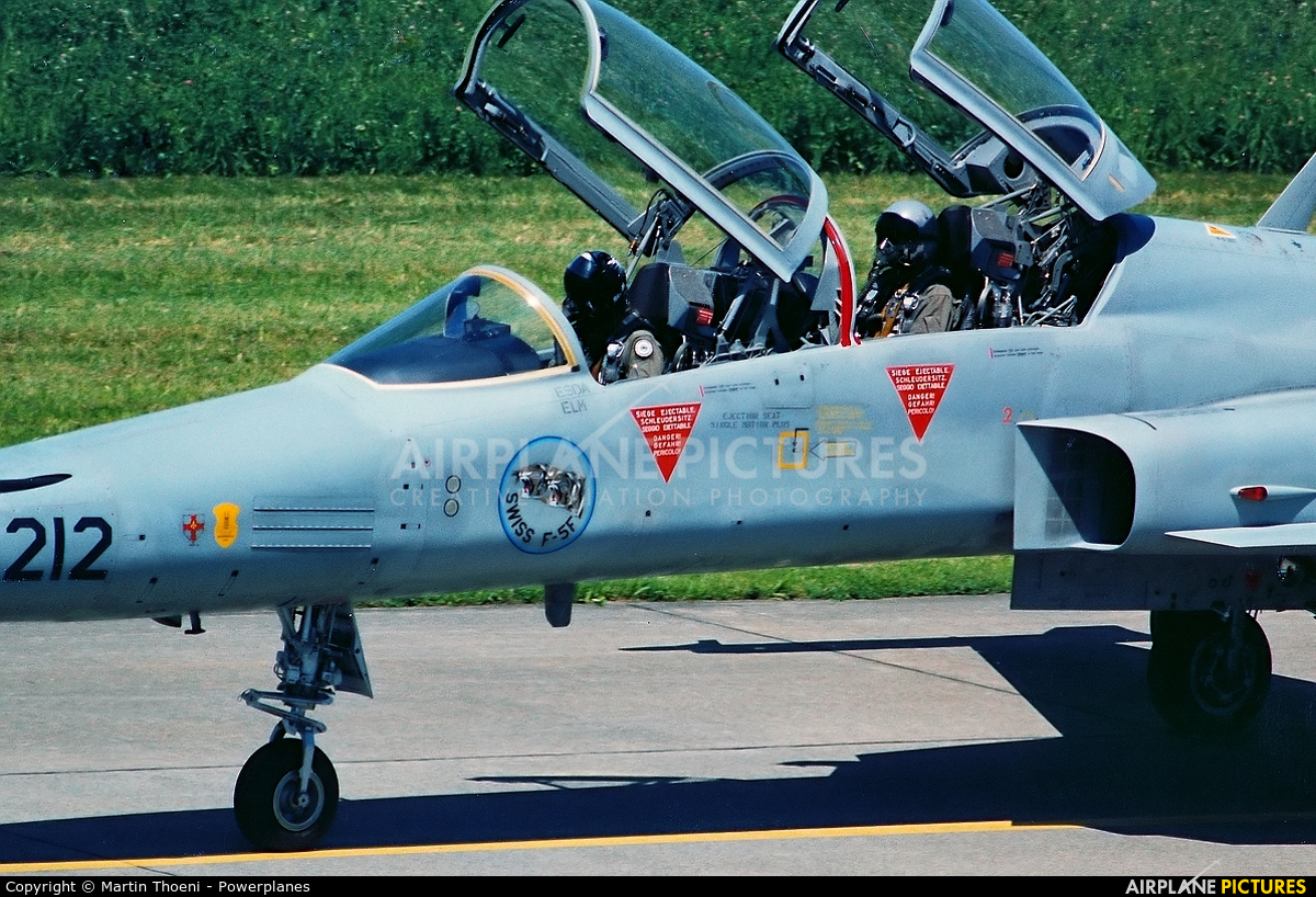 Switzerland - Air Force J-3212 aircraft at Payerne