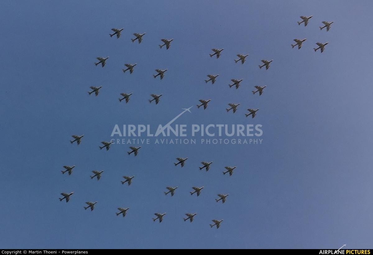 Switzerland - Air Force J-40** aircraft at Buochs
