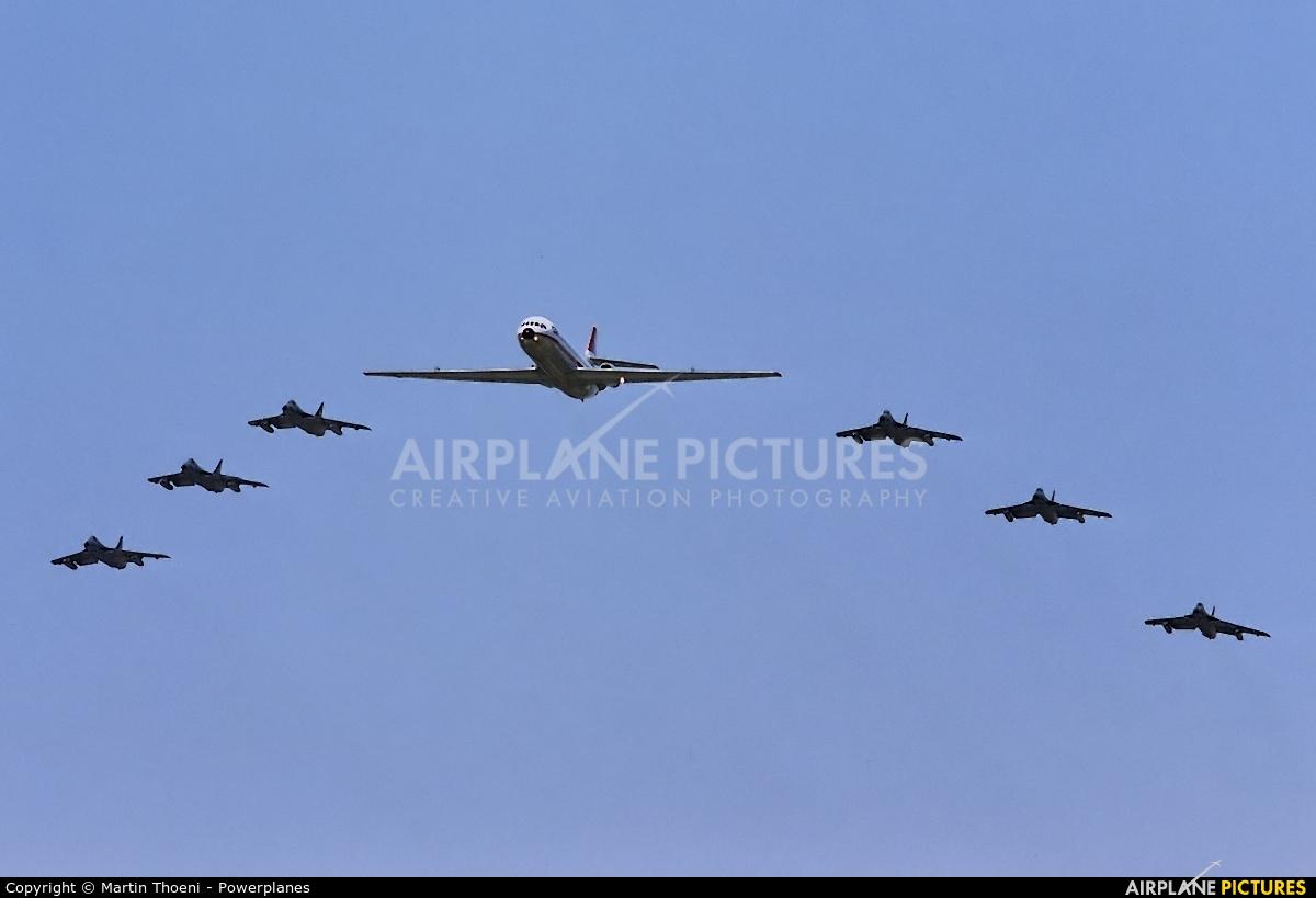 Switzerland - Air Force J-4029 aircraft at Sion