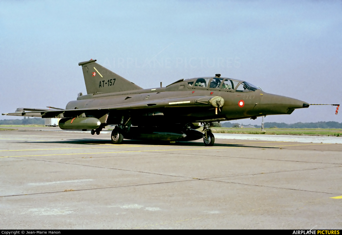 Denmark - Air Force AT-157 aircraft at St Truiden/Bruste
