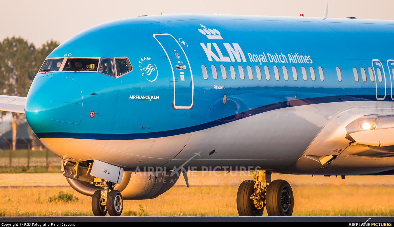 KLM PH-BGC aircraft at Amsterdam - Schiphol