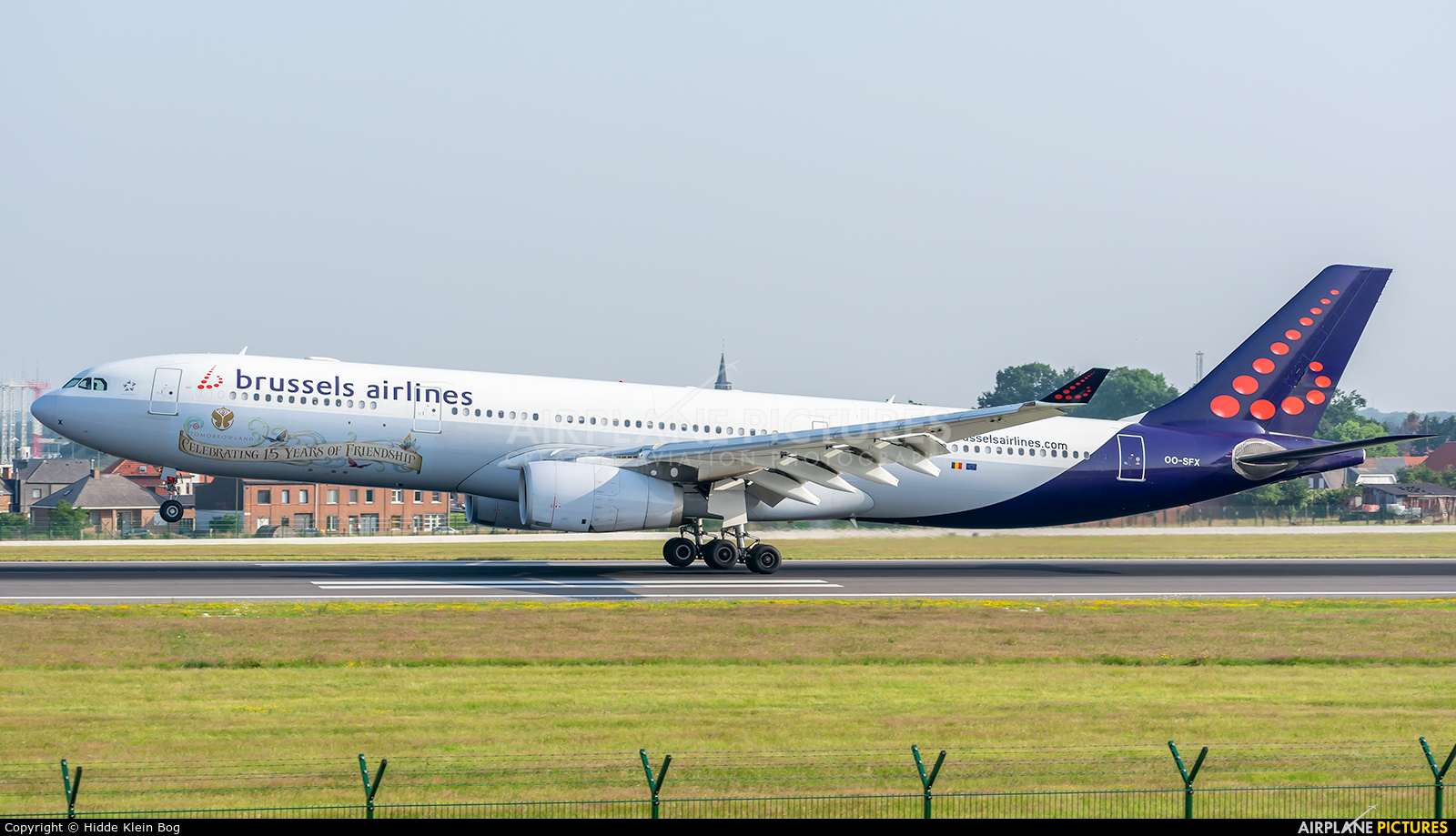 Brussels Airlines OO-SFX aircraft at Brussels - Zaventem
