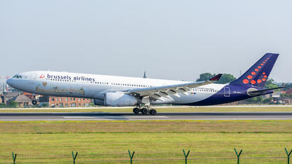 OO-SFX - Brussels Airlines Airbus A330-300