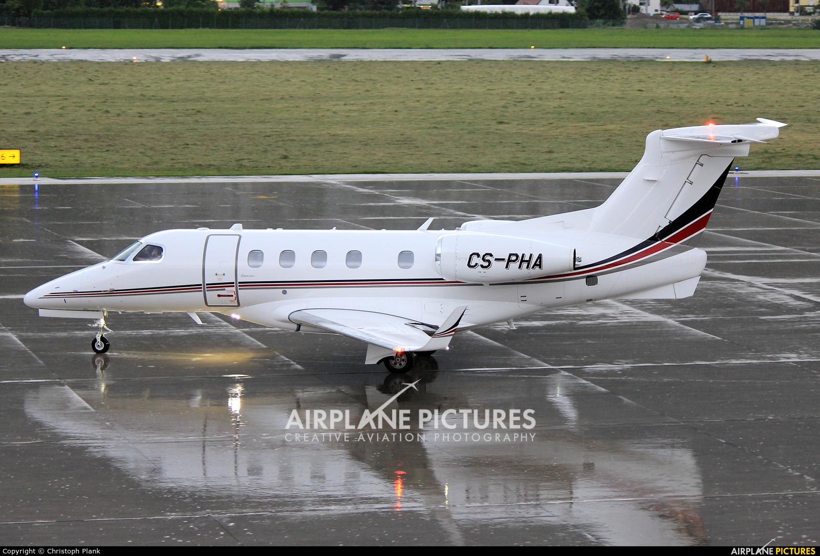 NetJets Europe (Portugal) CS-PHA aircraft at Innsbruck