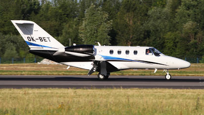 OK-BET - Queen Air Cessna 525 CitationJet M2