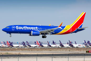 N8721J - Southwest Airlines Boeing 737-8 MAX