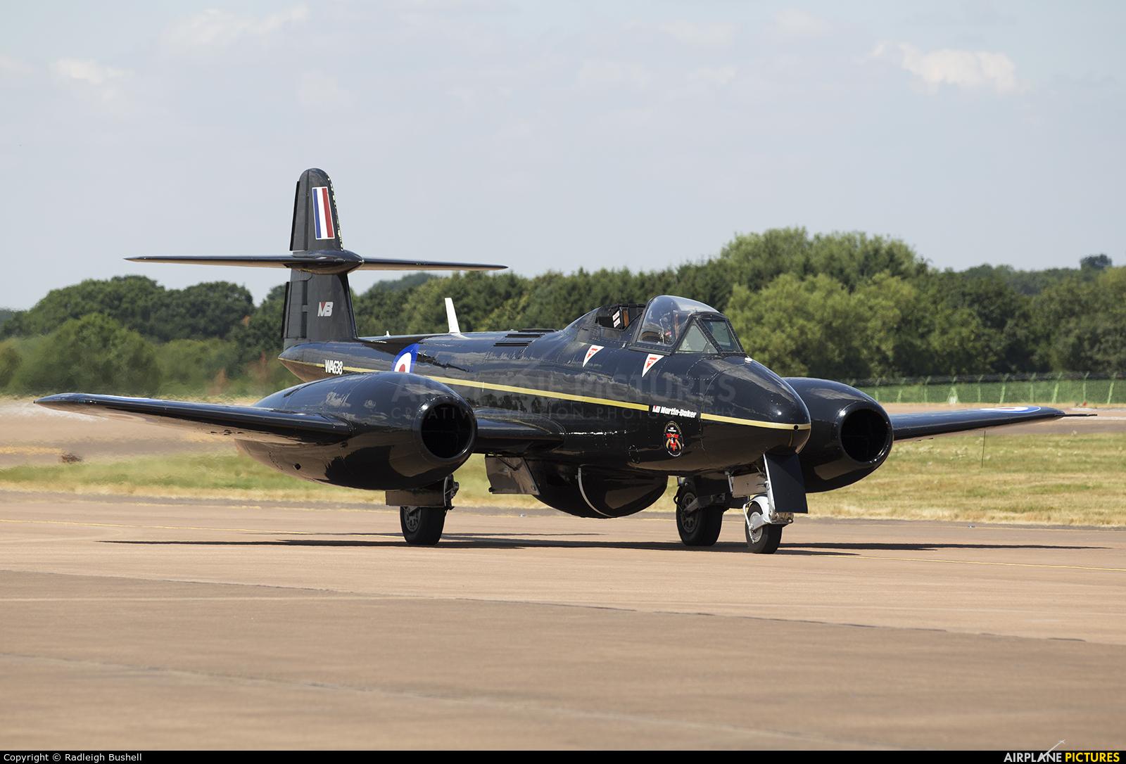 Martin Baker WA638 aircraft at Fairford