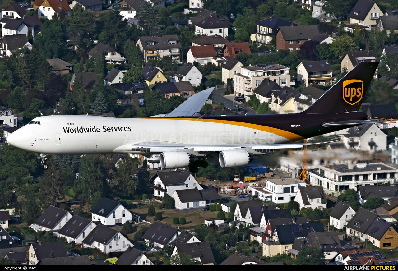 UPS - United Parcel Service N605UP aircraft at Cologne Bonn - Konrad Adenauer