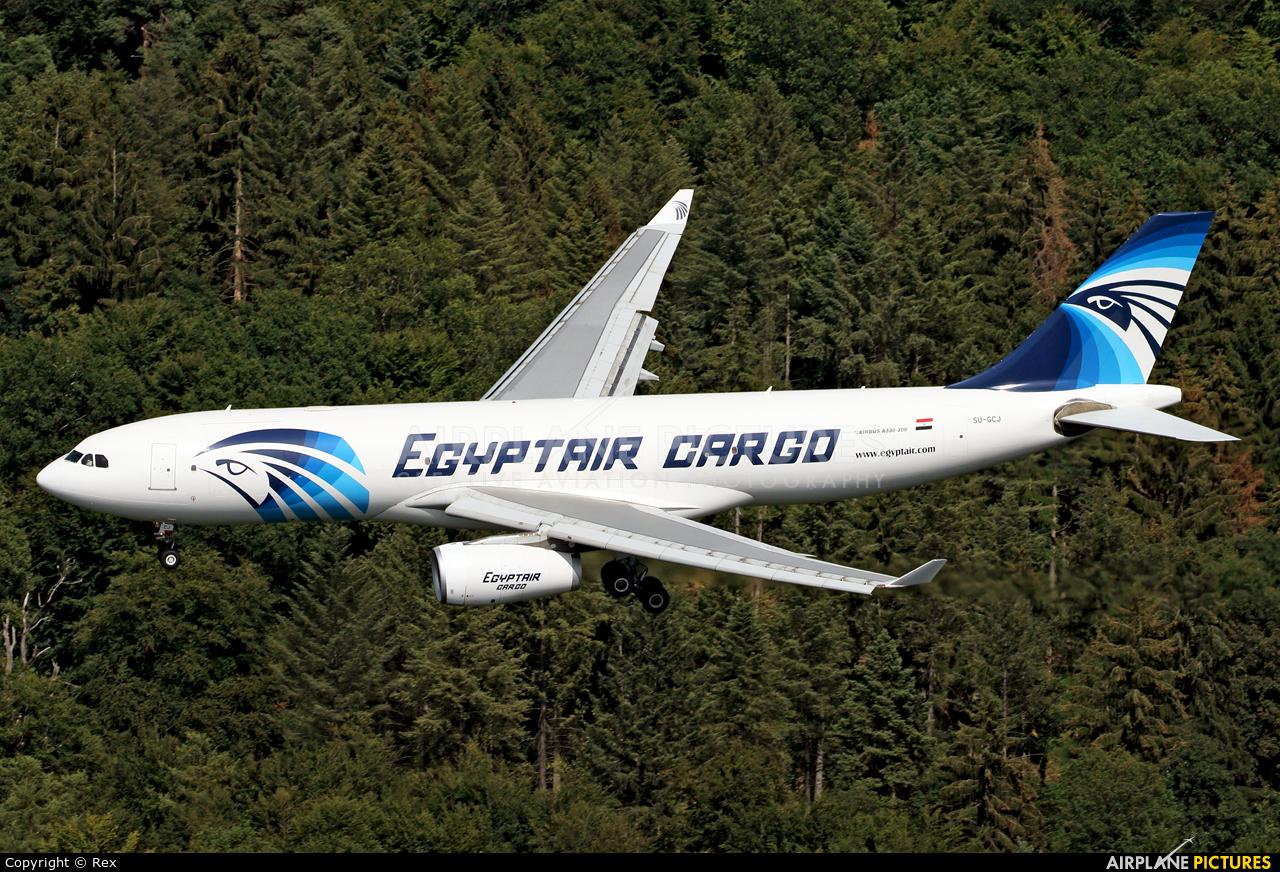 Egyptair Cargo SU-GCJ aircraft at Cologne Bonn - Konrad Adenauer