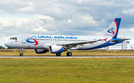 VQ-BDJ - Ural Airlines Airbus A320 aircraft