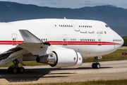 A6-HMM - United Arab Emirates - Government Boeing 747-400 aircraft