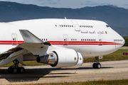UAE Government Boeing 747 visited Geneva title=