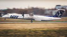 OY-YBY - LOT - Polish Airlines de Havilland Canada DHC-8-400Q / Bombardier Q400 aircraft