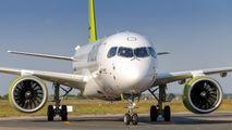 YL-AAP - Air Baltic Airbus A220-300 aircraft
