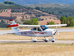 EC-FO5 - Private Tecnam P92 Echo, JS & Super