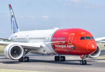 G-CKWC - Norwegian Air UK Boeing 787-9 Dreamliner