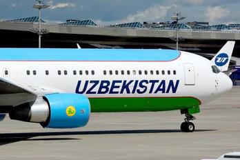 UK67003 - Uzbekistan Airways Boeing 767-300ER