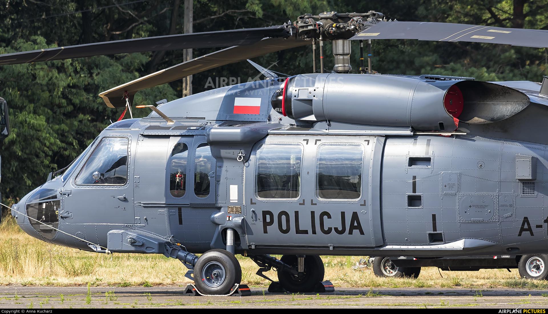 Poland - Police SN-72XP aircraft at Warsaw - Babice