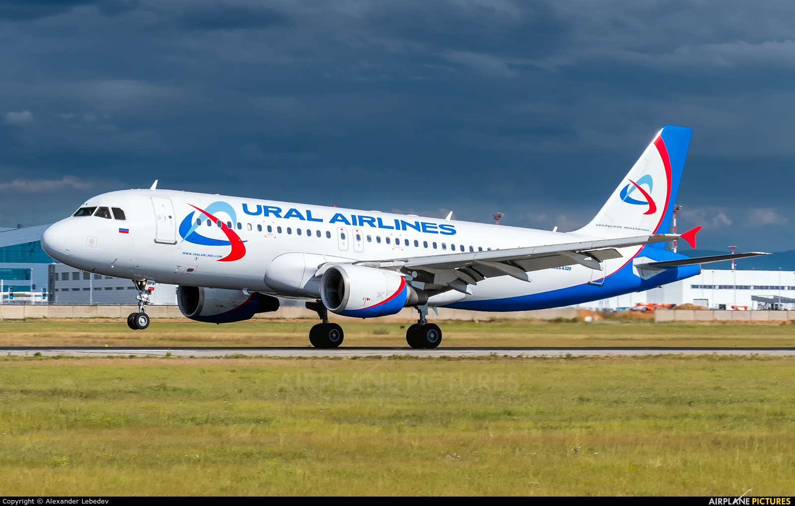 Ural Airlines VQ-BFV aircraft at Undisclosed Location