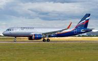 VP-BTO - Aeroflot Airbus A320 aircraft