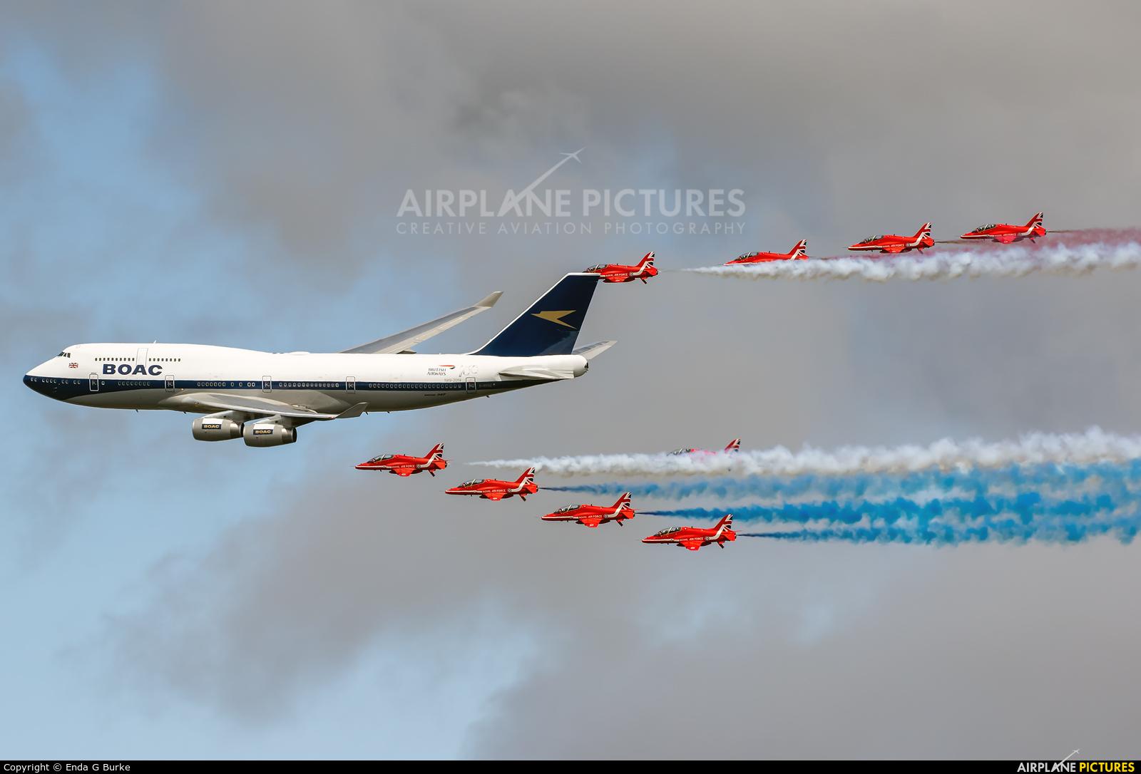 British Airways G-BYGC aircraft at Fairford
