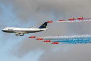 G-BYGC - British Airways Boeing 747-400 aircraft