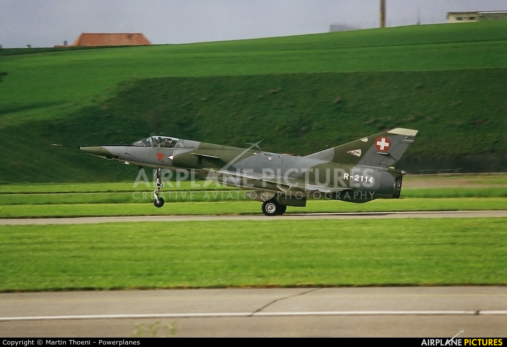 Switzerland - Air Force R-2114 aircraft at Payerne