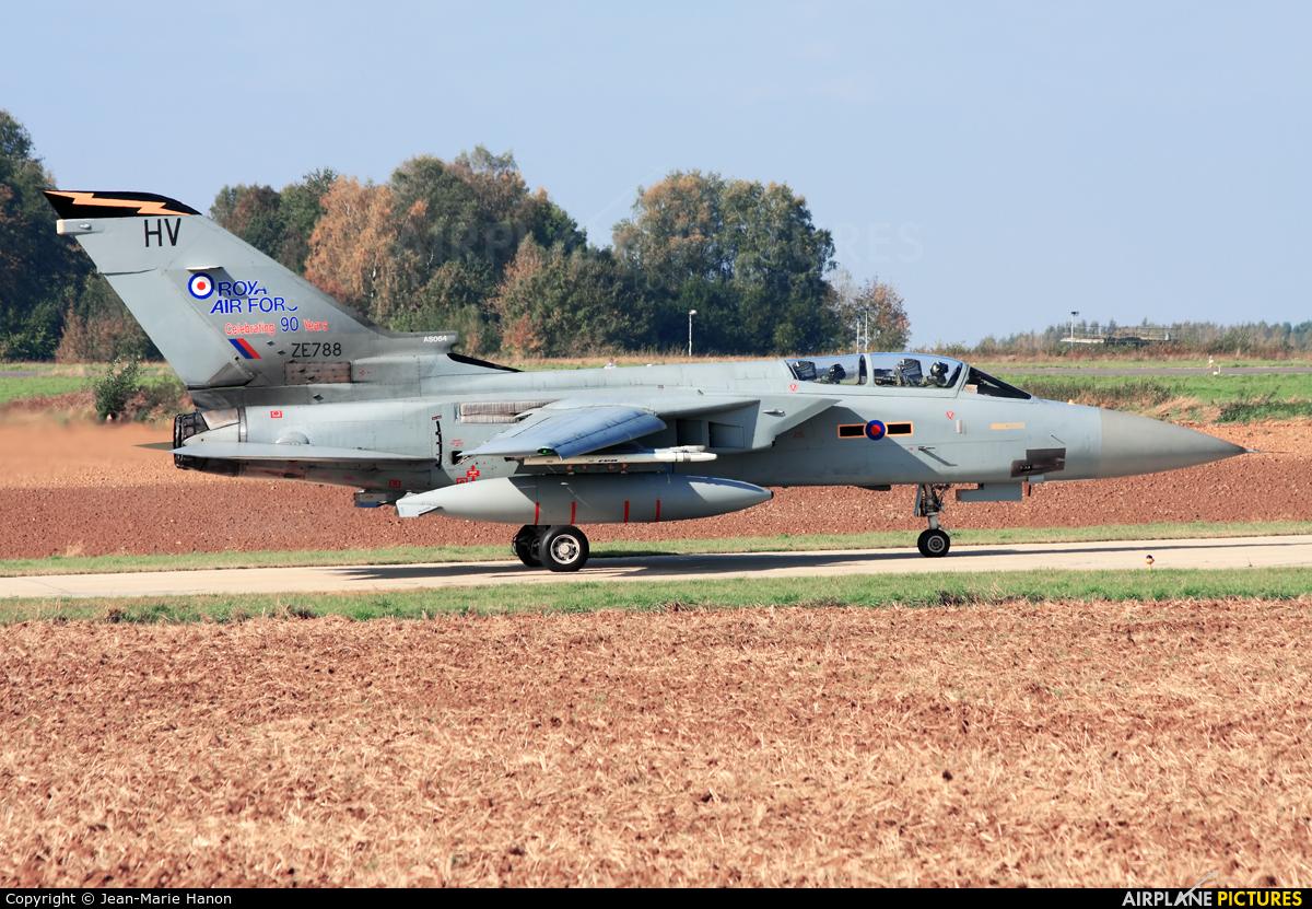 Royal Air Force ZE788 aircraft at Florennes