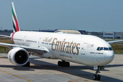 A6-EGV - Emirates Airlines Boeing 777-300ER aircraft