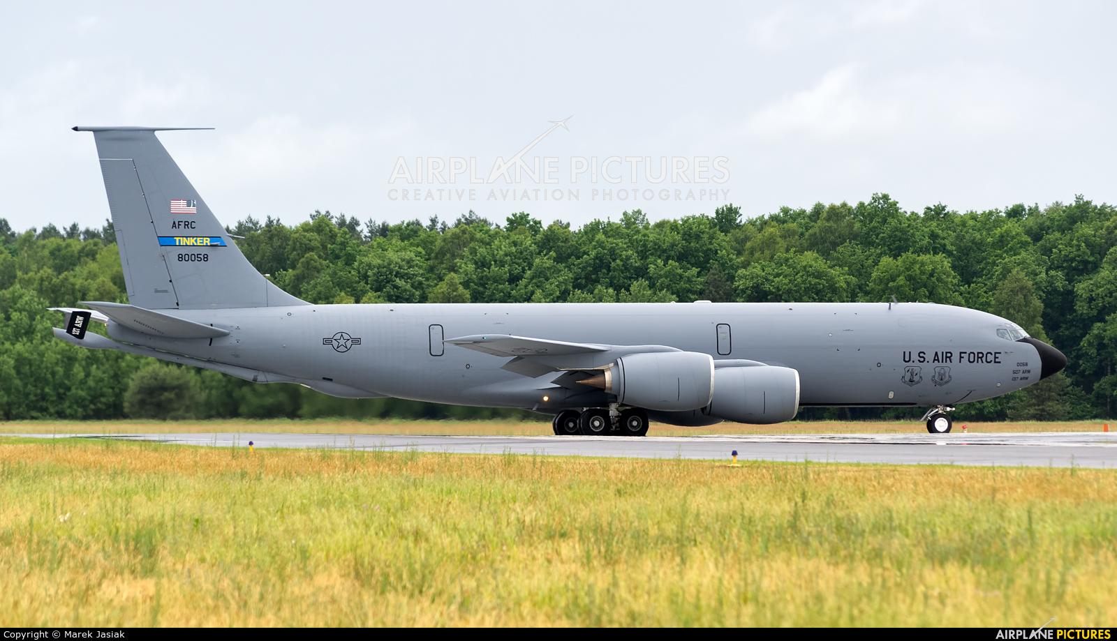 USA - Air Force 58-0058 aircraft at Powidz