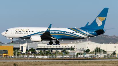 A4O-BAE - Oman Air Boeing 737-800