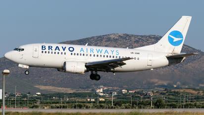 UR-CNE - Bravo Airways Boeing 737-500