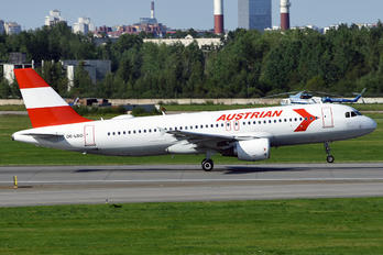 OE-LBO - Austrian Airlines/Arrows/Tyrolean Airbus A320
