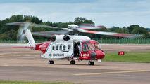G-MCGK - UK - Coastguard Sikorsky S-92A aircraft