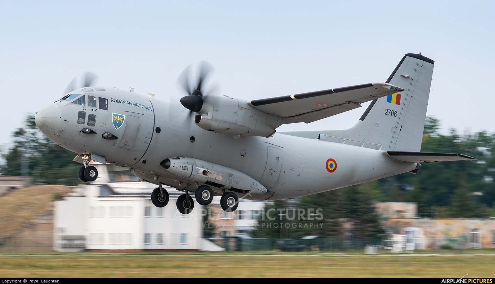 Romania - Air Force 2706 aircraft at Pardubice