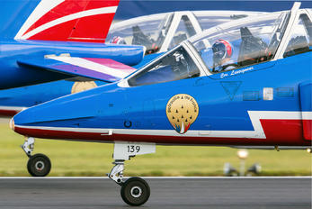"E-139 - France - Air Force ""Patrouille de France"" Dassault - Dornier Alpha Jet E"