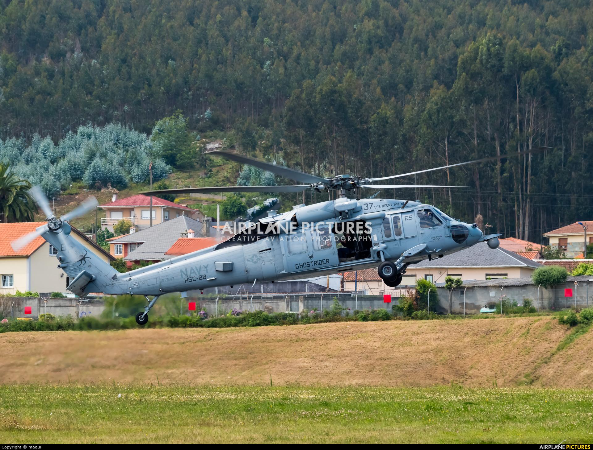 USA - Navy 167847 aircraft at La Coruña