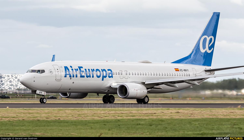 Air Europa EC-MVY aircraft at Amsterdam - Schiphol