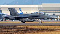 M45-08 - Malaysia - Air Force McDonnell Douglas F-18D Hornet aircraft