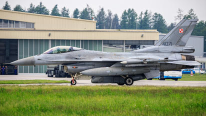4071 - Poland - Air Force Lockheed Martin F-16C Jastrząb