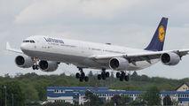 D-AIHZ - Lufthansa Airbus A340-600 aircraft