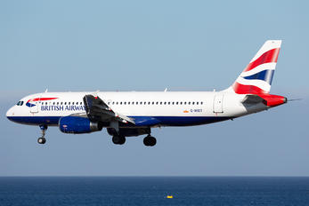 G-MIDT - British Airways Airbus A320