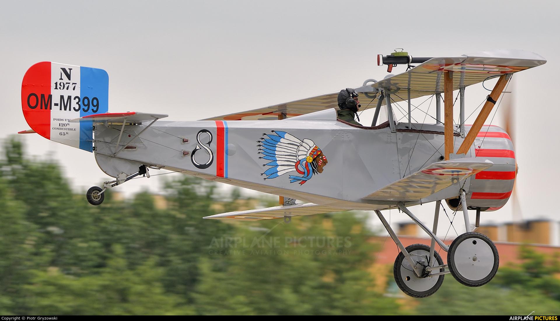 Private OM-M399 aircraft at Kraków, Rakowice Czyżyny - Museum of Polish Aviation