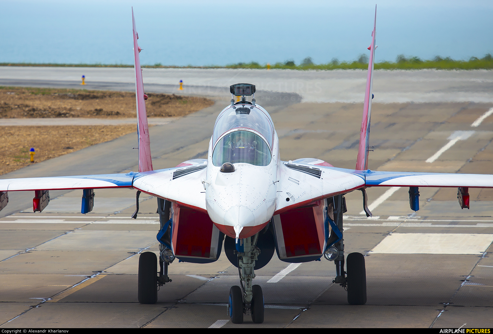 """Russia - Air Force """"Strizhi"""" 02 aircraft at Undisclosed Location"""